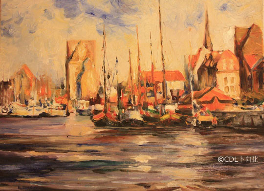 gns_art_boats_in_harbour